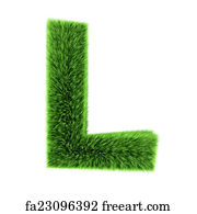 6d4b907a8 Free art print of Natural grass letter K. Letter K photo realistic ...