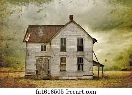 Free Abandoned House Art Prints and Wall Artwork | FreeArt