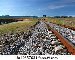 Free Abandoned Train Tracks Art Prints and Wall Artwork