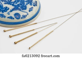 Free art print of Acupuncture needle | FreeArt