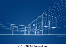 Free art print of architecture blueprint architecture blueprint on art print architecture blueprint malvernweather Image collections
