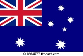 Obsessed image throughout australian flag printable