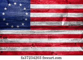 photo relating to Betsy Ross Printable Pictures named Absolutely free artwork print of Waving Betsy Ross Flag