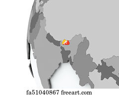 Free Bhutanese Flag Art Prints and Wall Artwork   FreeArt