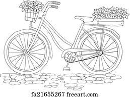 Free art print of Vintage bicycle. Vintage bicycle on the ...