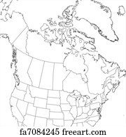 Free art print of Map of Canada in Canadian flag colors Print Blank Map Of Canada on print blank world map, print blank united states map, print blank pie chart,