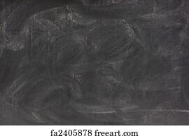 blank chalkboard with eraser smudges