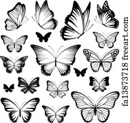 Free Butterfly Tattoos Art Prints And Wall Artwork Freeart