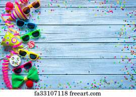 free art print of carnival background colorful carnival streamers