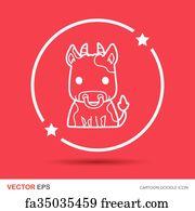 Free art print of Chinese Zodiac Animal - Ox, Rat, Ro