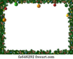 Christmas Images To Print.Free Christmas Border Art Prints And Wall Artwork Freeart
