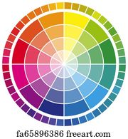 Free Color Wheel Art Prints And Wall Artwork Freeart