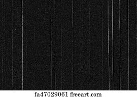 Free art print of Black and white background realistic flickering, analog  vintage TV signal with bad interference, static noise background