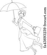 Free Mary Poppins Art Prints and Wall Artwork   FreeArt