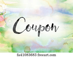 Free Coupon Clipper Art Prints And Wall Artwork Freeart