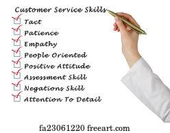 customer oriented skills