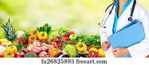 public health nutritionist art print diet and health care