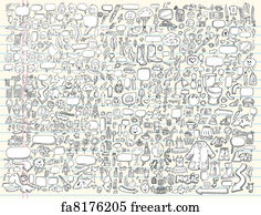 Free Doodle Art Prints and Wall Art   FreeArt