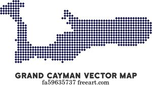photo about Printable Map of Grand Cayman named Free of charge artwork print of Rum Simple fact Grand Cayman