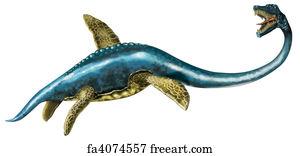 free art print of elasmosaurus the elasmosaurus was an aquatic