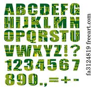 Free art print of Set of letters from mechanical timetable board ...