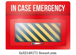 graphic regarding In Case of Emergency Break Glass Printable known as Free of charge Within just Scenario Of Crisis Split Gl Artwork Prints and Wall