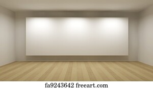 Free museum concept art prints and wall art freeart museum concept art print empty room with white frame art gallery concept 3d sciox Images