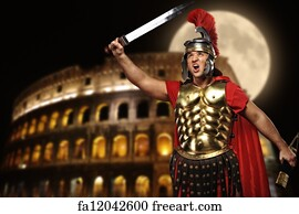Free Roman Soldier Art Prints and Wall Art  FreeArt