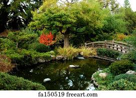 Japanese Garden Art Print - Japanese Garden Bri