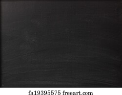 free art print of blank chalkboard in wooden frame blank chalkboard
