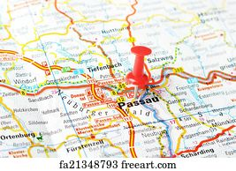 Free Art Print Of Graz Austria Map Close Up Of Graz Austria - Graz austria map