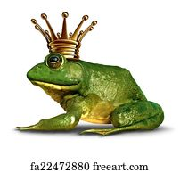 Free art print of frog prince concept frog prince concept for Frog transformation