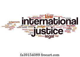 international justice art print international justice word cloud concept - 1000 Free Prints