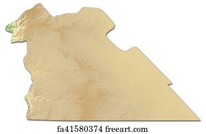 Free Map Of Jordan Art Prints and Wall Art  FreeArt