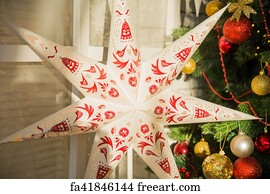 seven pointed art print large paper seven pointed star