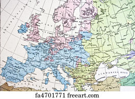 Free Russia Map Art Prints And Wall Art FreeArt - Sweden russia map