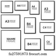 Free Frames Of Different Sizes Art Prints And Wall Artwork Freeart