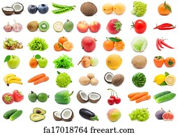 photograph regarding Printable Pictures of Fruit and Vegetables titled Free of charge Fruit Greens Artwork Prints and Wall Art FreeArt