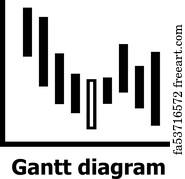 Free art print of gantt diagram icon simple style gantt diagram gantt diagram icon simple style ccuart Images