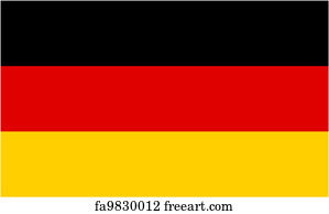 graphic about Printable German Flag known as Totally free artwork print of German flag