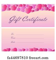 free art print of gift certificate coucher coupon gift