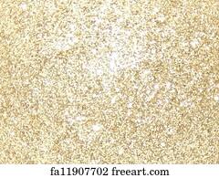 free art print of gold glitter on black background gold glitter on