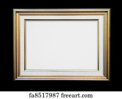 Free Gold Frame Art Prints And Wall Artwork Freeart