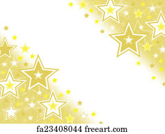 Free art print of Gold star background