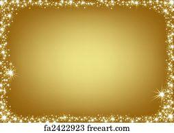 free art print of golden glitter frame background freeart fa17461665