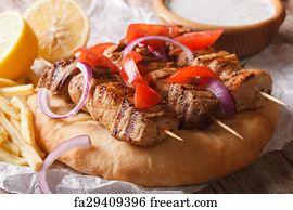 how to make souvlaki pita bread