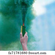 Free Smoke Bomb Art Prints and Wall Artwork | FreeArt