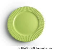 Dinner Plate Art Print - Green Dinner Plate  sc 1 st  FreeArt & Free Dinner Plate Art Prints and Wall Artwork | FreeArt