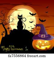 free halloween poster art prints and wall artwork freeart