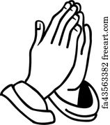 free art print of praying hands the open praying hands on the